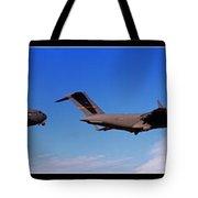 Globemaster Flyby Tote Bag
