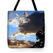 Glorious August Sunset Tote Bag