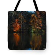 Glow Reflection Tote Bag