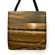 Glowin' Ocean Tote Bag