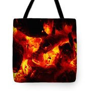 Glowing Ashes Tote Bag