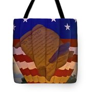 Glowing Constitution Tote Bag