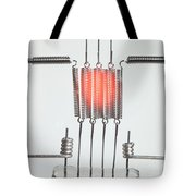 Glowing Filament 2 Of 4 Tote Bag