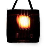 Glowing Filament 3 Of 3 Tote Bag