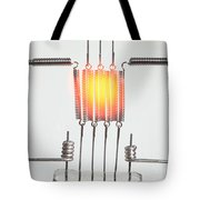 Glowing Filament 3 Of 4 Tote Bag