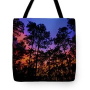 Glowing Forest Tote Bag