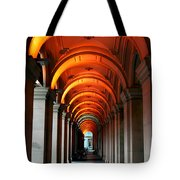 Glowing Iteration Tote Bag by Andrew Paranavitana