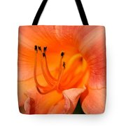 Glowing Orange Tote Bag