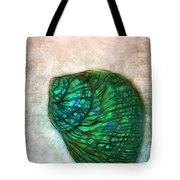 Glowing Seashell Tote Bag