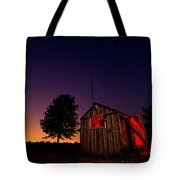 Glowing Shed Tote Bag