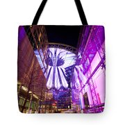 Glowing Sony Center Tote Bag