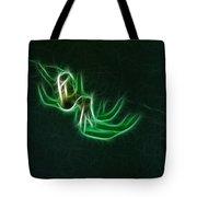 Glowing Spider Tote Bag