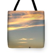 Glowing Sunset Tote Bag