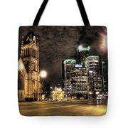 Gm Building Detroit Mi Tote Bag
