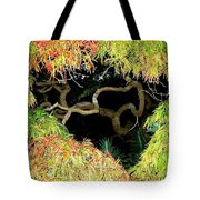 Gnarly Autumn Beauty Tote Bag