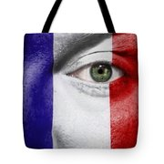Go France Tote Bag by Semmick Photo