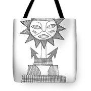 God Of Sun Tote Bag by Michal Boubin