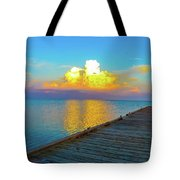 Gods' Painting Tote Bag