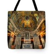 Gold And Holy Tote Bag