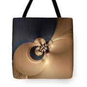 Gold And Indigo Tote Bag