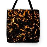 Gold Bokeh Lights Abstract Tote Bag