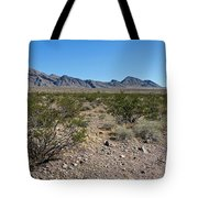 Gold Butte Skyline Tote Bag