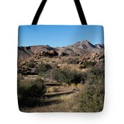 Gold Butte Tumbling Terrain  Tote Bag