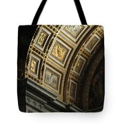 Gold Inlay Arches St. Peter's Basillica Tote Bag