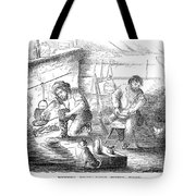 Gold Mining Camp, 1853 Tote Bag