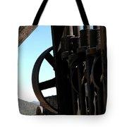 Gold Mining Stone Crusher Tote Bag by LeeAnn McLaneGoetz McLaneGoetzStudioLLCcom