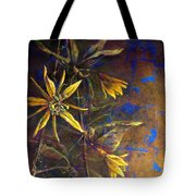 Gold Passions Tote Bag