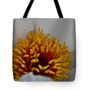 Gold Stamen Tote Bag