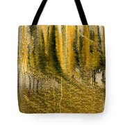 Golden Autumn Forest Tote Bag