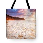 Golden Bay Tote Bag