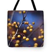 Golden Berries Tote Bag