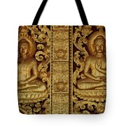 Golden Buddhas Tote Bag