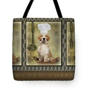 Golden Chef's Tote Bag