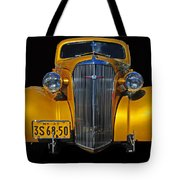 Golden Chevrolet Tote Bag