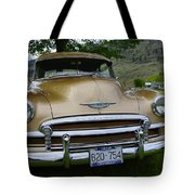 Golden Chevy Tote Bag