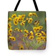 Golden Coreopsis Tickseed Wildflowers Tote Bag