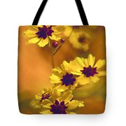 Golden Coreopsis Wildflowers  Tote Bag