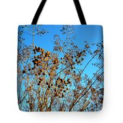 Golden Crepe Myrtle Seeds Tote Bag