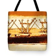 Golden Defenders Tote Bag