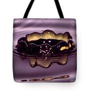 Golden Drop Tote Bag