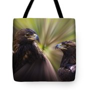 Golden Eagles Tote Bag