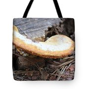 Golden Edged Mushroom Tote Bag