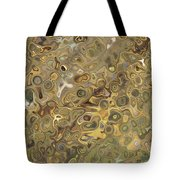 Golden Fluidity Tote Bag