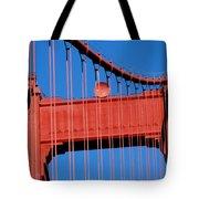Golden Gate Bridge Summit Tote Bag