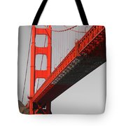 Golden Gate Bridge-touch Of Color Tote Bag