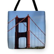 Golden Gate North Tower Tote Bag